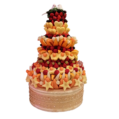 Dove Fresh Fruit Tower