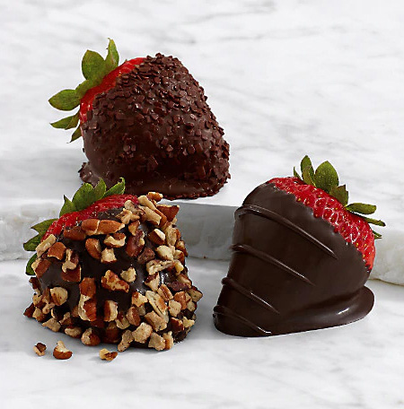 Pecans - Chocolate Strawberry Box